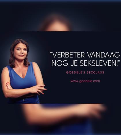 Photo of Goedele Liekens brengt ons de Sexclass.