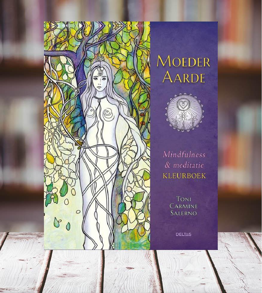 Photo of Moeder aarde. Mindfulness & meditatie kleurboek