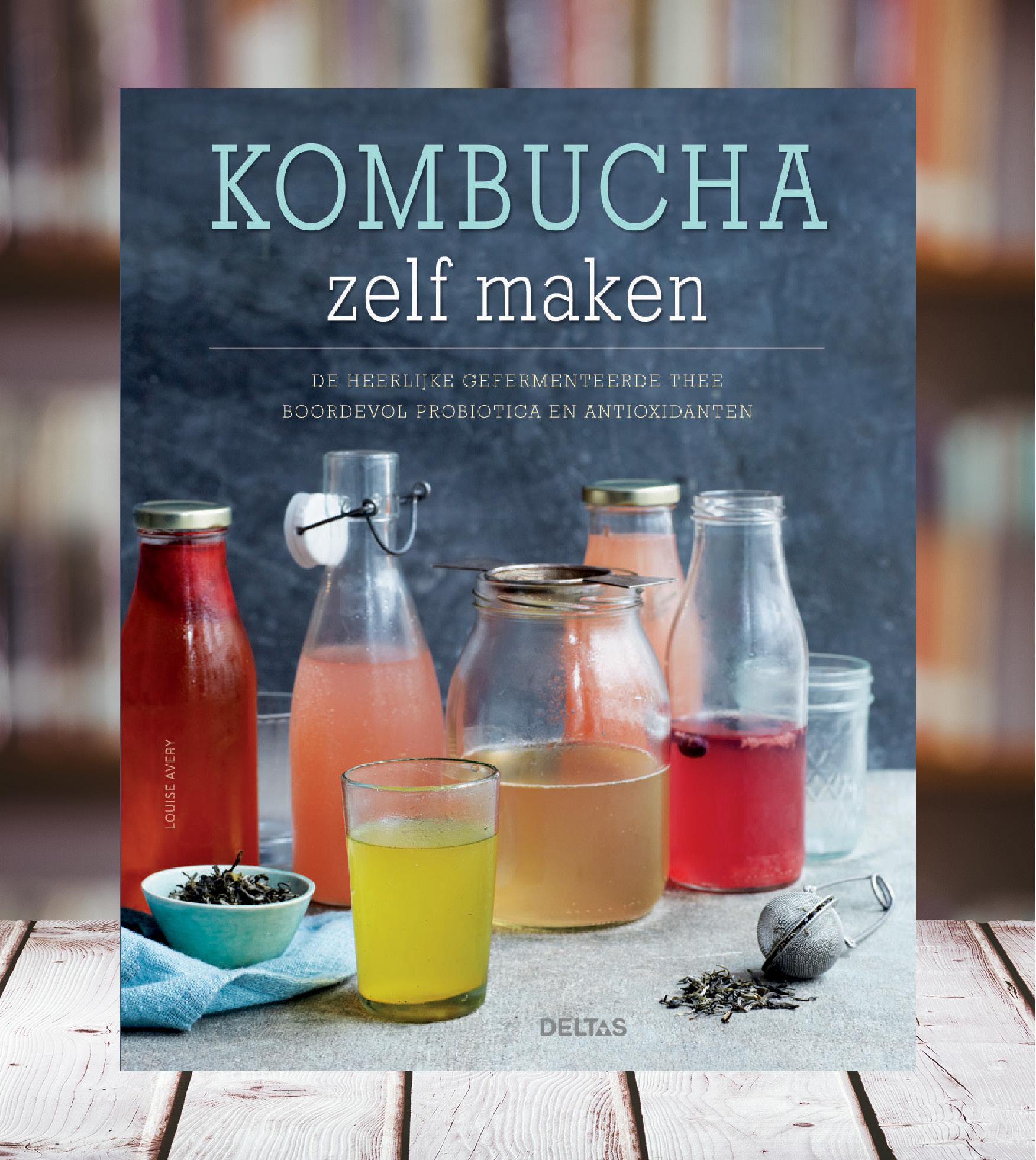 Photo of Kombucha zelf maken