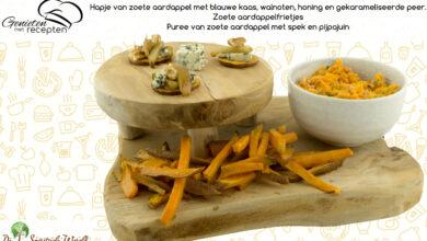 Photo of Zoete aardappelen
