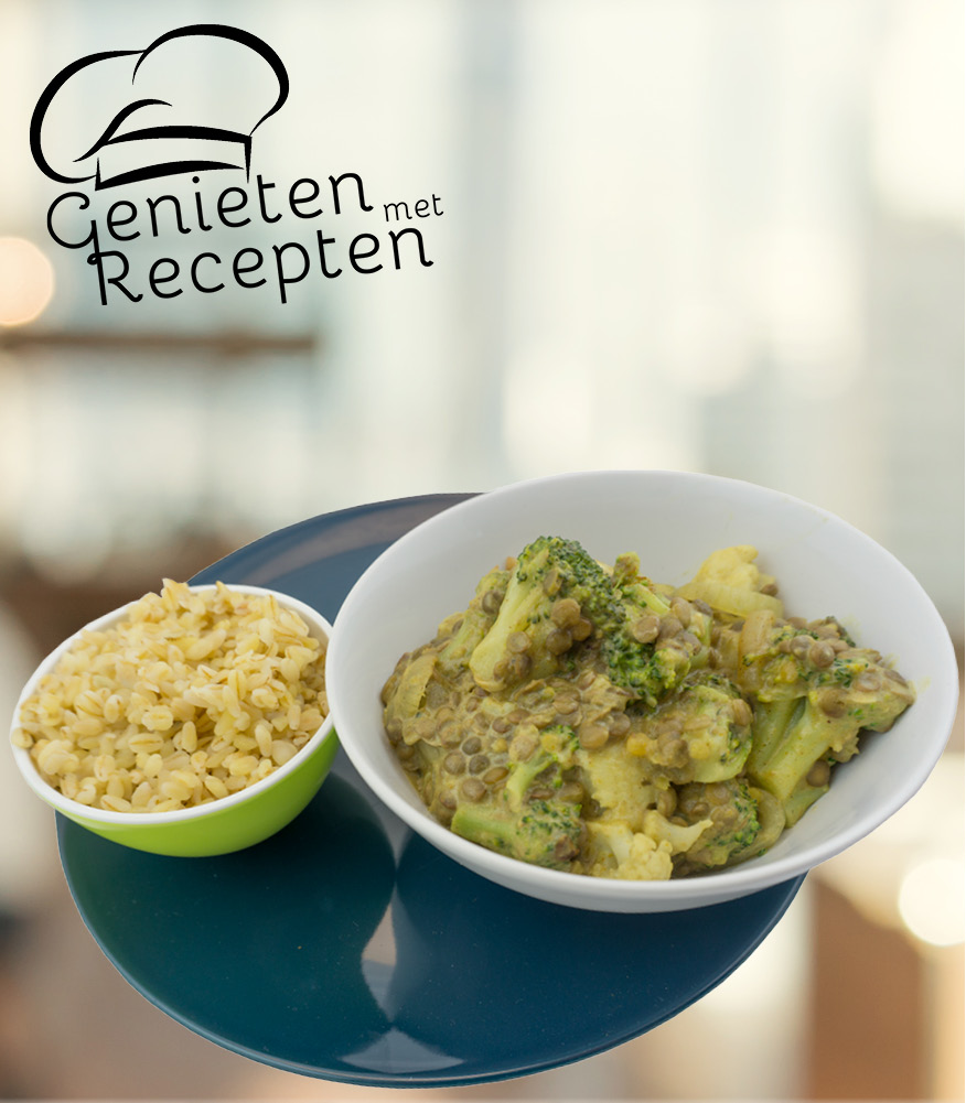Photo of Curry van linzen, broccoli en bloemkool