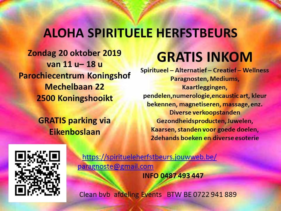 Photo of 20/10 Aloha Spirituele Herfstbeurs Koningshooikt.