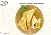 Photo of Vegetarisch pasteitje of bladerdeeghapje